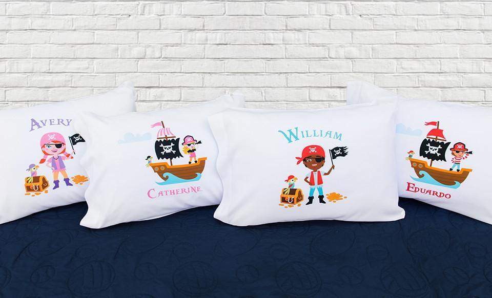 Pirate Pillowcases