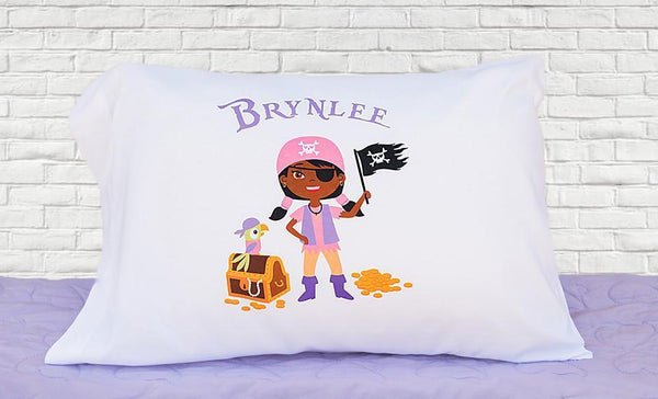 Customized Pirate Pillowcases