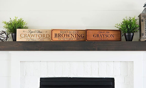 American Pacific Mortgage - Customized Wooden House Signs (5x15)