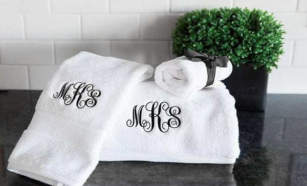 Personalized Luxury Towel Collection