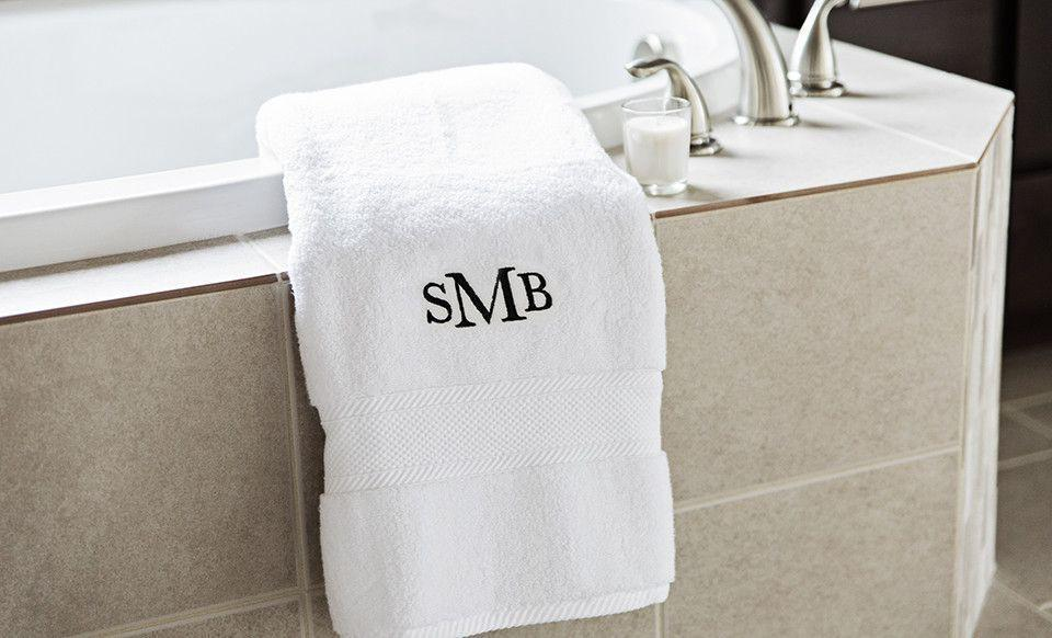 Corporate 5 Dollar Discount Page Customized Luxury Bath Towels