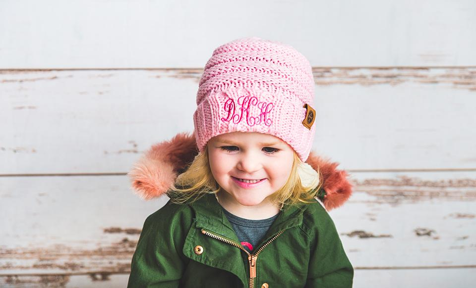Kids Personalized Beanie Hats - Qualtry 89edb2cb936
