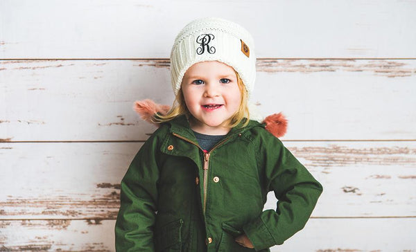 Kids Personalized Beanie Hats