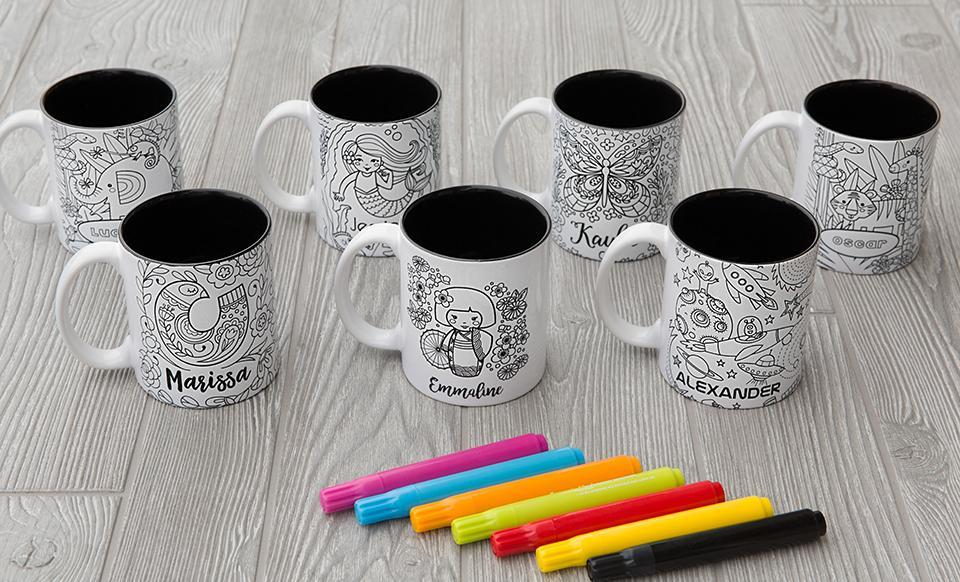 Coloring Mugs Only