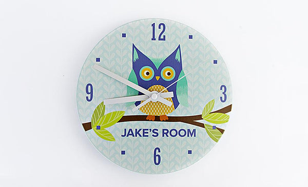 Personalized Baby Clock