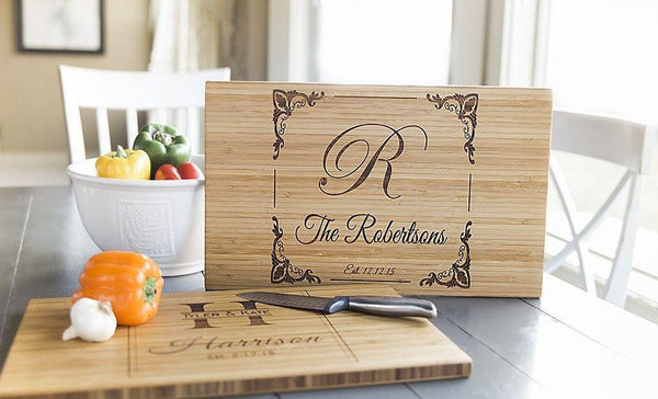 Discounts - Personalized Cutting Board 11x17 Bamboo