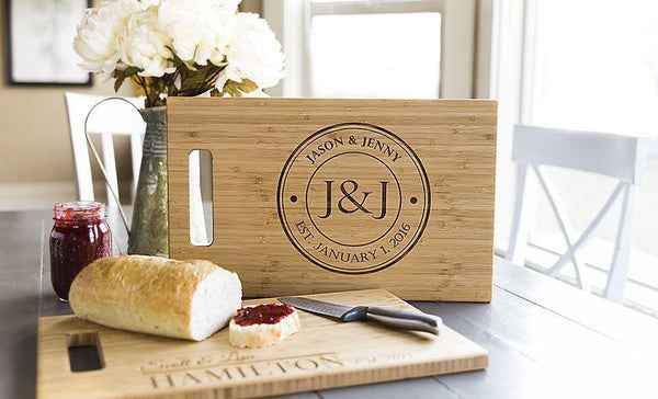 Academy Mortgage Personalized Cutting Board 11x17 Bamboo-FREE SHIP