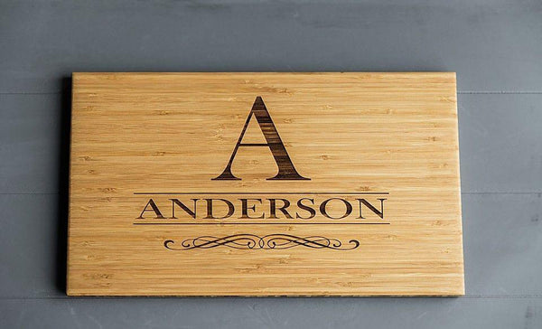 Triple Branded Flagship, Academy Mortgage and Select Title Personalized Beautiful Large Bamboo Boards