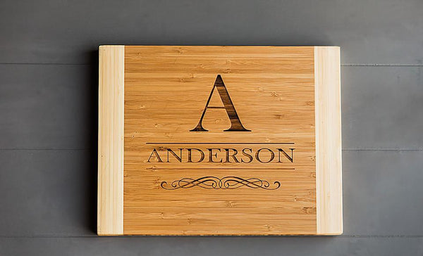 Personalized Cutting Board 11x14 Bamboo – 11 Styles!