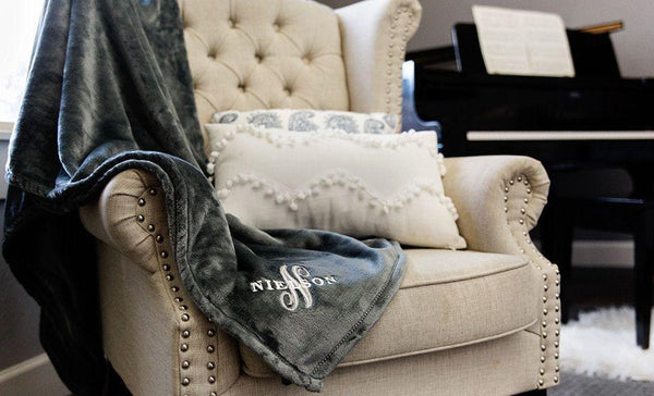 WestUSA Realty - Custom Embroidered Minky Touch Blankets