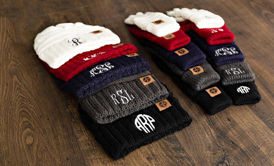 cfd9636793683 Personalized Beanie and Glove Bundle