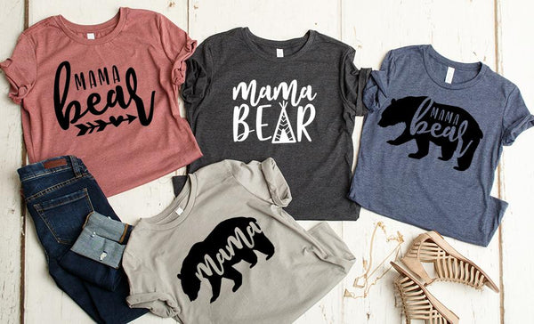 Mama Bear T-Shirt Collection