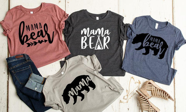 Test Mama Bear T-Shirt Collection