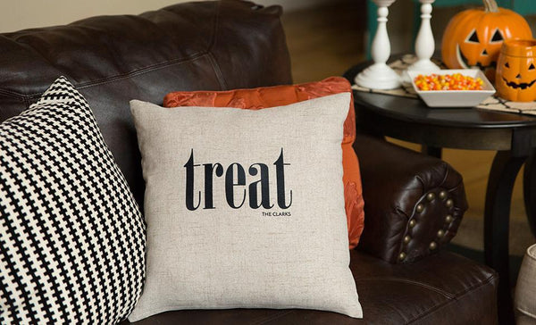 Personalized Halloween Throw Pillowcases