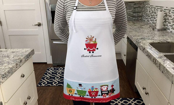 Customized Holiday Aprons