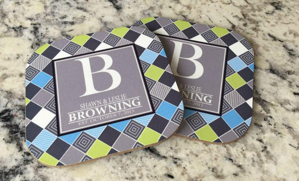 Personalized Full Color Coasters – Set of 2