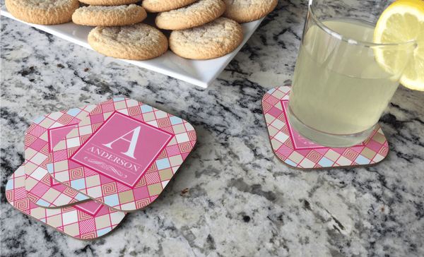 Personalized Full Color Coasters – Set of 4 - Qualtry