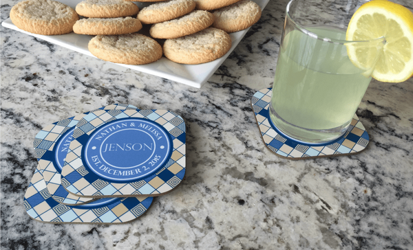 Personalized Full Color Coasters – Set of 4