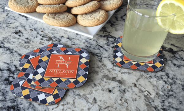 Personalized Full Color Coasters – Set of 4 - Qualtry Personalized Gifts