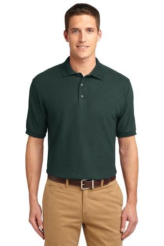 Custom Embroidered Port Authority Polos - Silk Touch K500