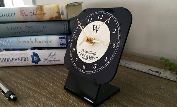 Personalized Desk Clocks