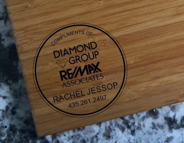 Re/Max Diamond Group Personalized Beautiful Large Bamboo Boards