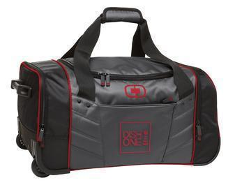 Corporate Duffel Bag - Embroidered OGIO Hamblin 30 Wheeled Duffel - 413010