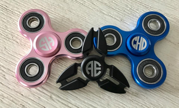 Personalized Fidget Spinners