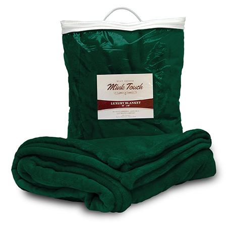 Corporate Gift Item - Embroidered Mink Touch Blanket - 2 Sizes