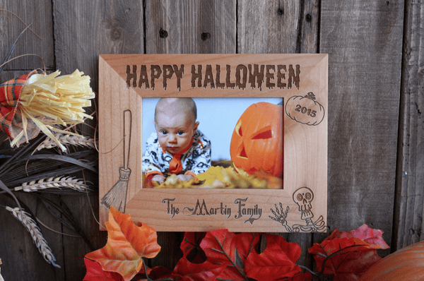 Personalized Spooky Halloween Photo Frames