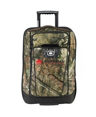 Corporate Rolling Bag - Embroidered OGIO Camo Nomad 22 Travel Bag - 413018C