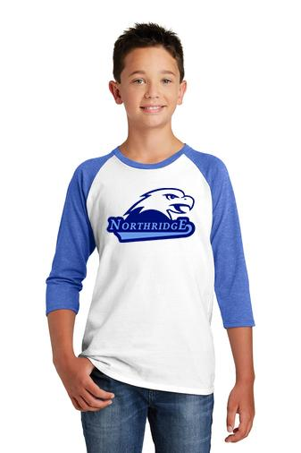 Northridge Elementary - 3/4 Sleeve Raglan Shirt