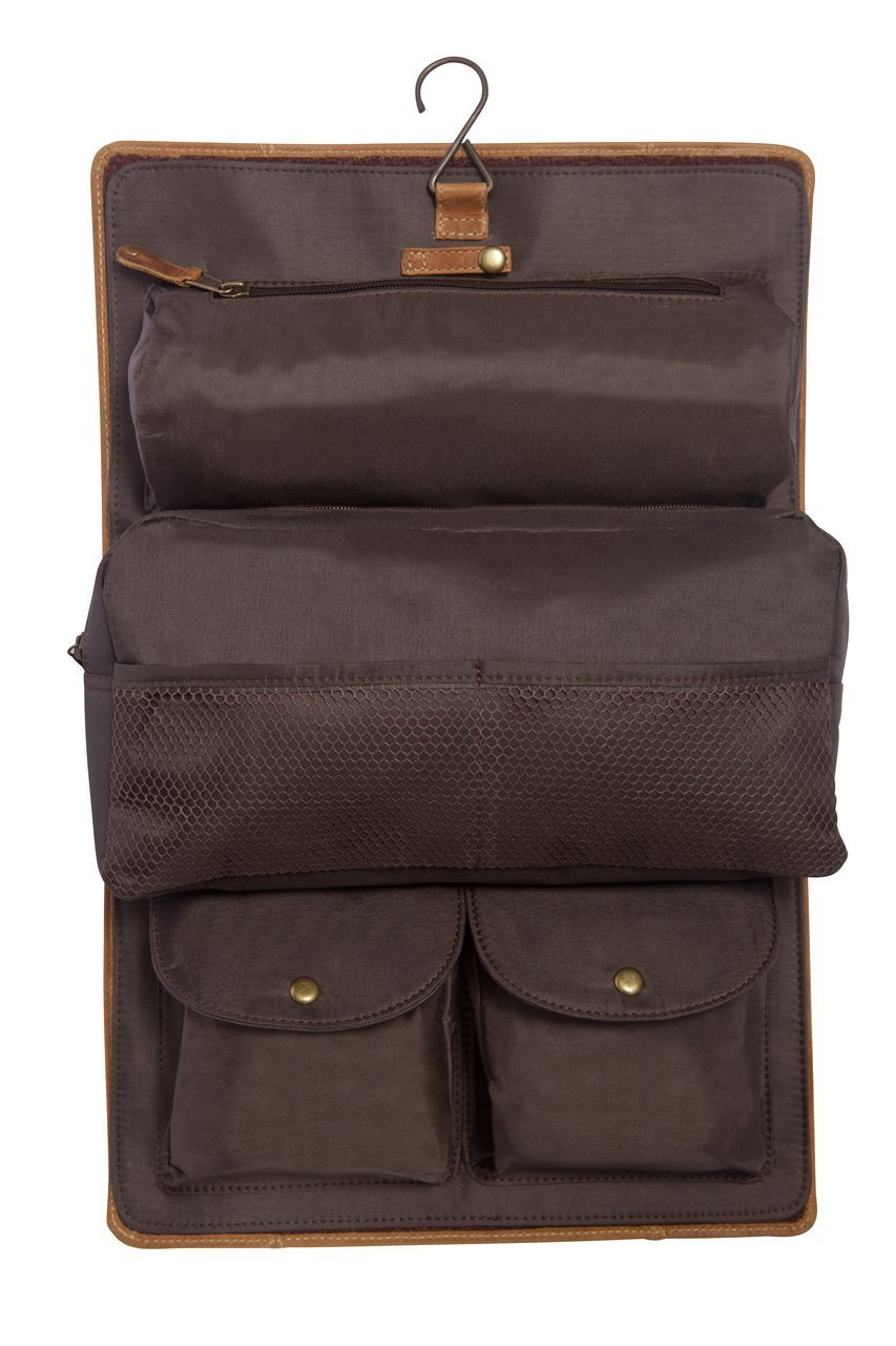 Personalized JDS Gifts Leather Travel Kit