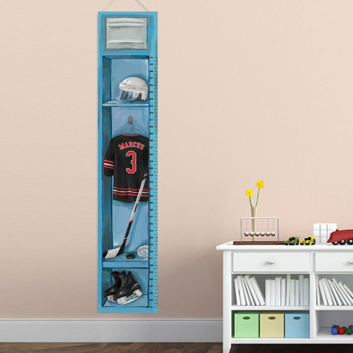 Personalized Hockey Growth Chart Qualtry