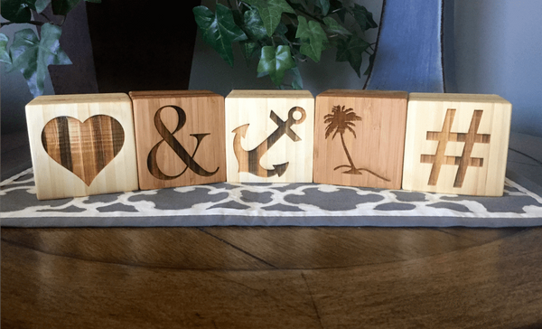 Alphabet Letters, Numbers and Symbols - Qualtry Personalized Gifts