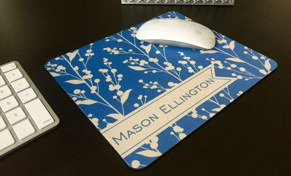 Personalized Mouse Pads - Berries Design - Qualtry