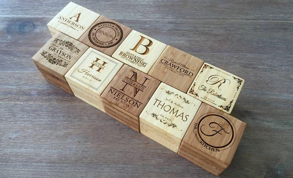 Classic Personalized Blocks