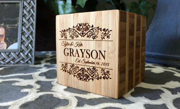 Classic Personalized Blocks - Qualtry Personalized Gifts