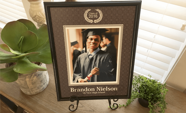 Personalized Designer Photo Frames - Graduation Style