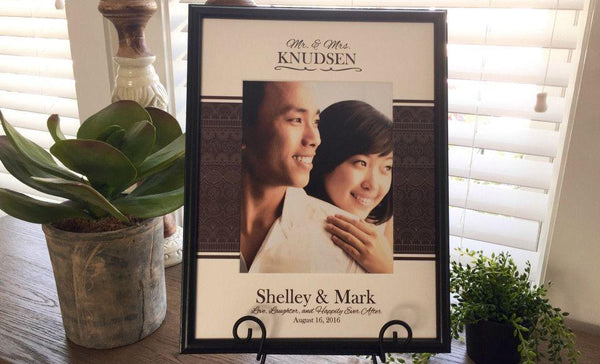 Personalized Designer Photo Frames - Central Banner Style