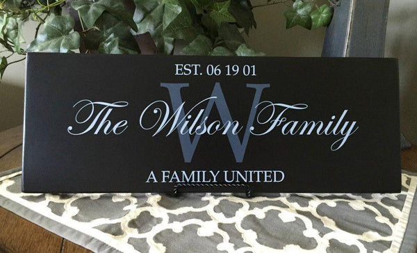 Family Wall Signs - Qualtry