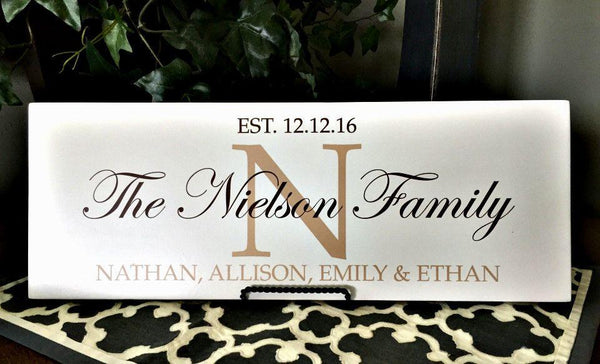 Family Wall Signs