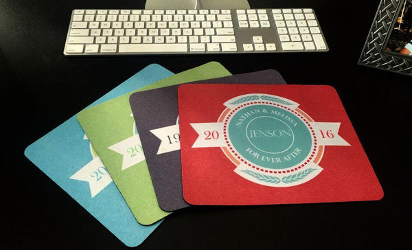 Personalized Mouse Pads - Scroll Design - Qualtry