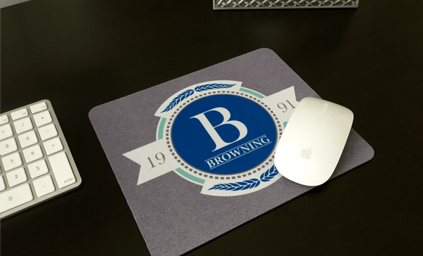 Personalized Mouse Pads - Scroll Design