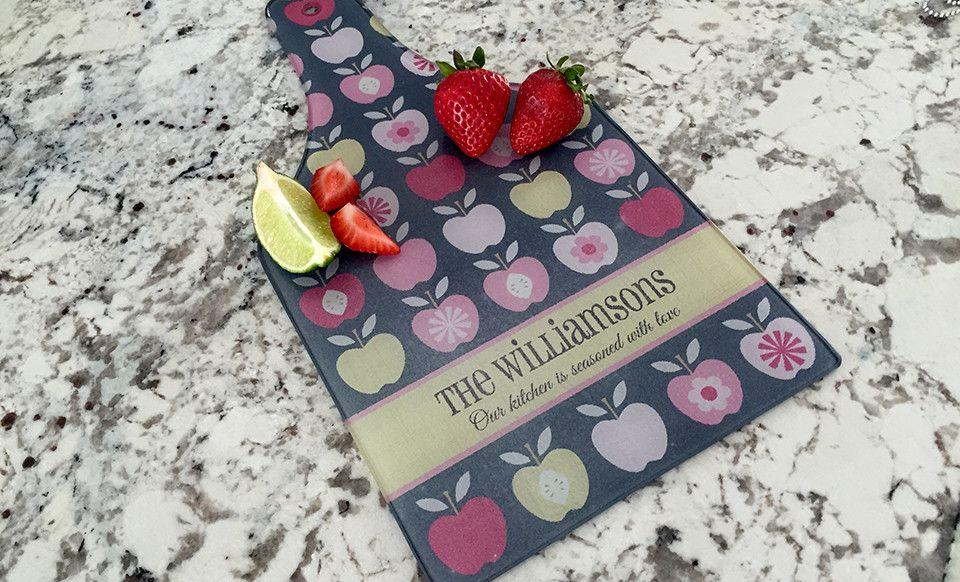 personalized tempered glass cutting boards  qualtry, Kitchen design