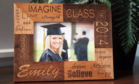 Personalized Graduation Photo Frames - Qualtry Personalized Gifts