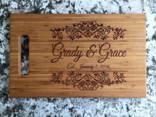 Better Homes and Gardens 11x17 Bamboo Boards - Qualtry Personalized Gifts