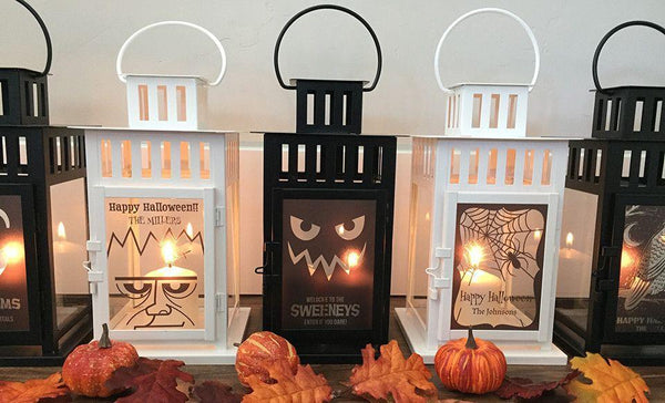 Customized Halloween Lanterns