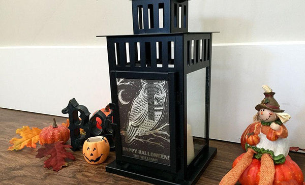 Personalized Halloween Lanterns
