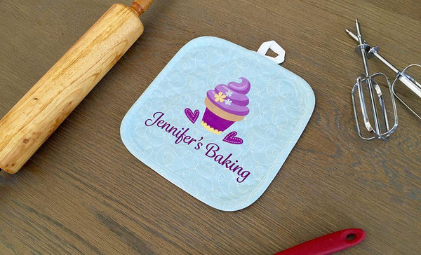 Personalized Baking Hot Pads
